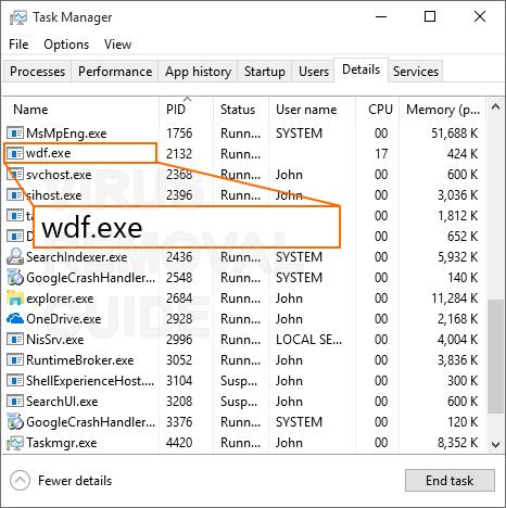 Wdf.exe adware