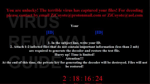 ZiCoyote (MrDec) adware