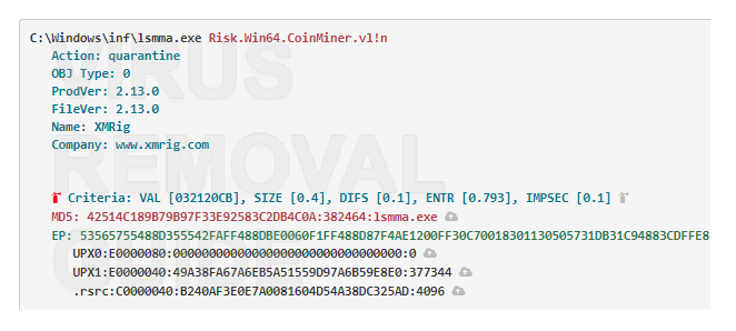 Lsmma.exe adware