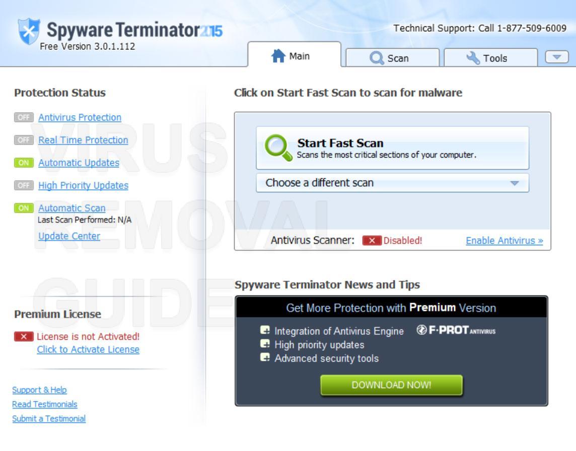 Spyware Terminator adware