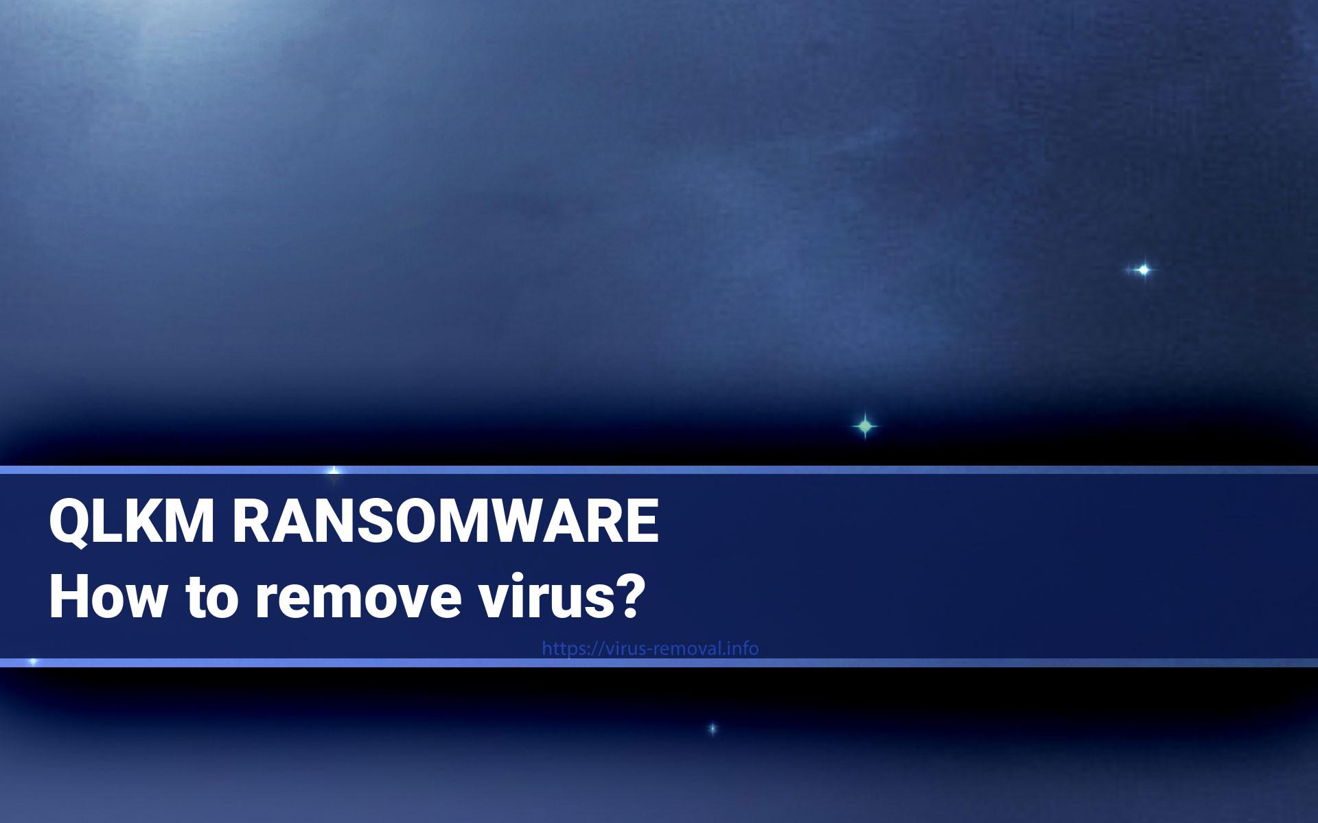 QLKM Ransomware