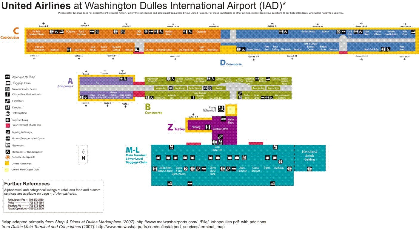 Dulles Airport Terminal Map game of thrones family map on