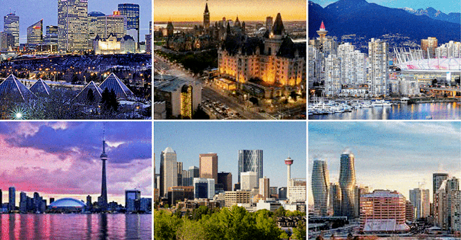 Canadian Cities