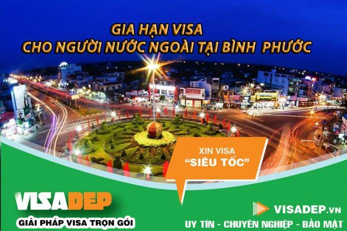 gia hạn visa cho người nước ngoài tại Bình Phước