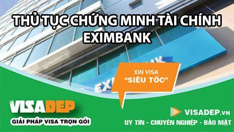 chứng minh tài chính exinbank