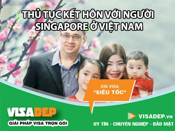 thủ tục kết hôn với người singapore ở Việt nam