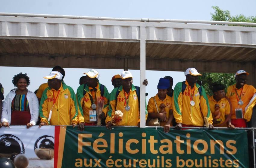 Après leur sacre au mondial de pétanque : Les vice-champions béninois reçus en pompe
