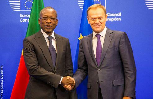 Visite de travail de deux jours du Président Patrice Talon en Belgique: Le point de la journée du jeudi 08 décembre