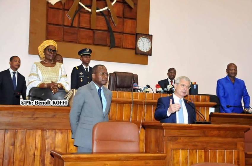 Diplomatie parlementaire: Le point de la visite du président de l'Assemblée Nationale de France au Bénin