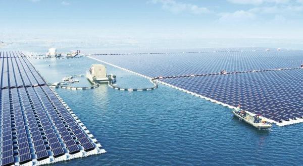 La plus grande centrale solaire flottante au monde mise en opération en Chine