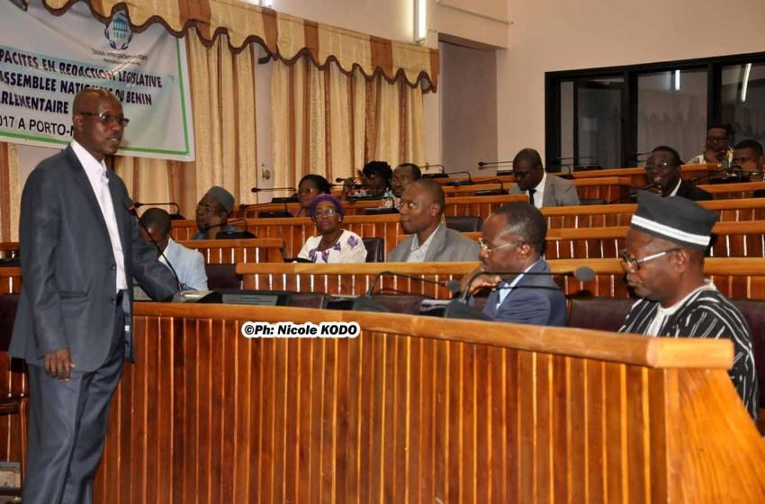 Formation à l'Assemblée Nationale:  Le personnel d'appui outillé sur les techniques de la rédaction législative