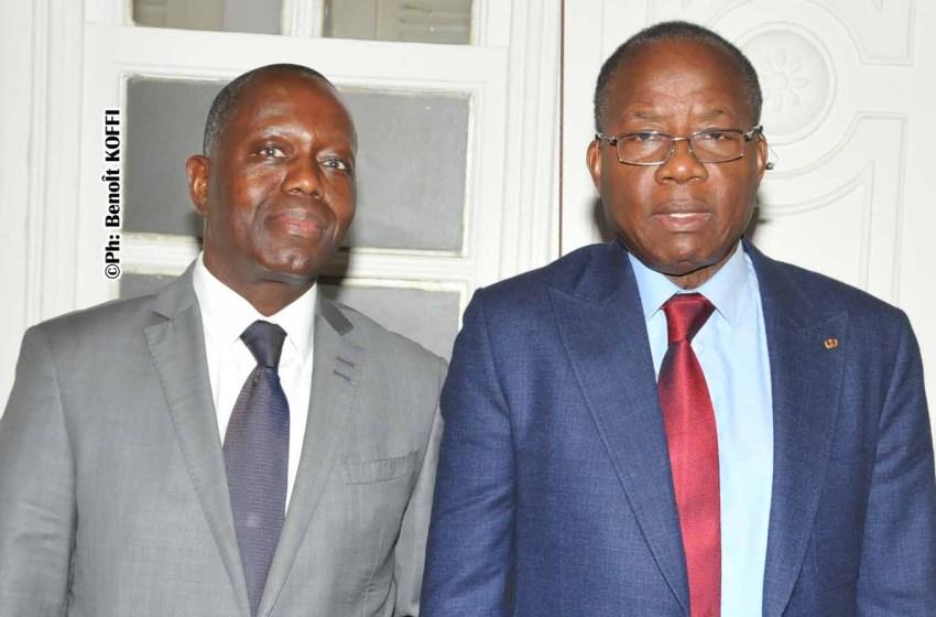Audience à l'Assemblée Nationale : Deux ambassadeurs et un responsable de Plan Bénin au cabinet de Houngbédji