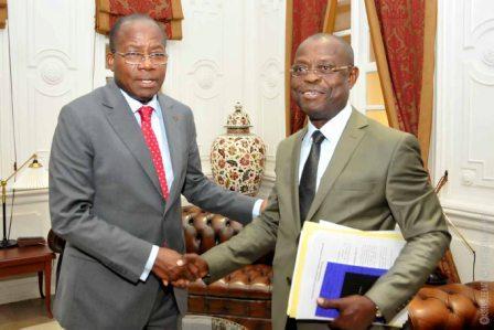 Audiences au Palais des Gouverneurs à Porto-Novo: La loi uniforme sur le blanchiment des capitaux et le MCA-Bénin II au cœur des échanges