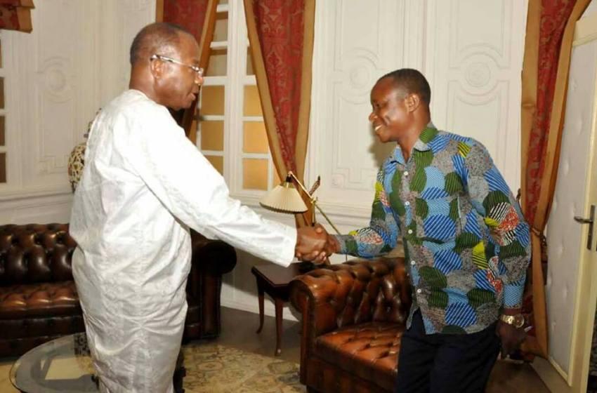 Audience: Le Syndicat des Conducteurs de Taxi-Moto de l'Ouémé et du Plateau au cabinet du président Adrien Houngbédji