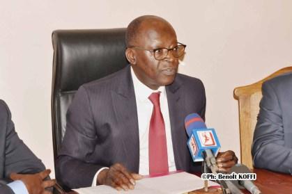 Le Ministre d'Etat chargé du Plan Abdoulaye Bio Tchané