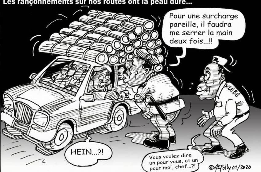 Bénin: Le transport routier toujours au rythme des faux frais