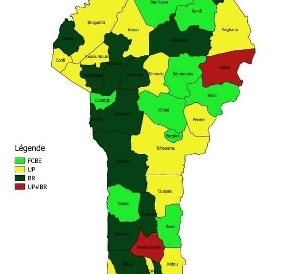 Gouvernance locale et politique au Bénin: LE GRAND OUÉMÉ AUX COULEURS DU BAOBAB; UN RECORD POLITICO HISTORIQUE POUR VLAVONOU ET L'UP