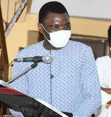 Joseph Djogbenou, Président de la COur COnstitutionnelle
