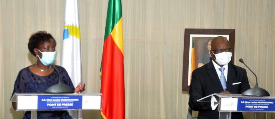 Fin de la visite de travail de Louise Mushikiwabo au Bénin: L'Oif décerne un satisfecit au gouvernement
