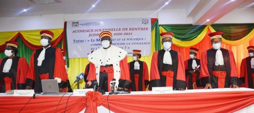 Rentrée judiciaire à la Cour suprême à Porto-Novo: Liens entre le magistrat et le politique à la loupe
