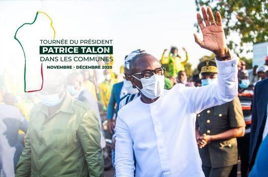 Tournée présidentielle : A Ouinhi, Talon exalte les vertus de la bonne gouvernance