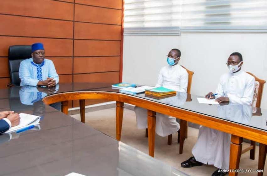 Audience: Le plan stratégique de l'action pastorale de l'archidiocèse de Cotonou exposé au Président Vlavonou
