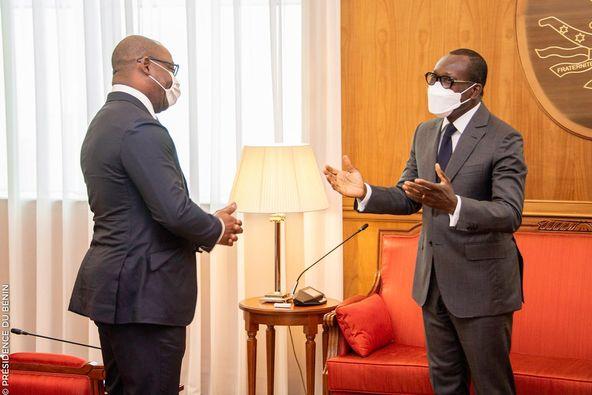 Bénin/Le Président de la BOAD au cabinet du Chef de l'Etat: Le Financement des projets de développement au Bénin au cœur des échanges