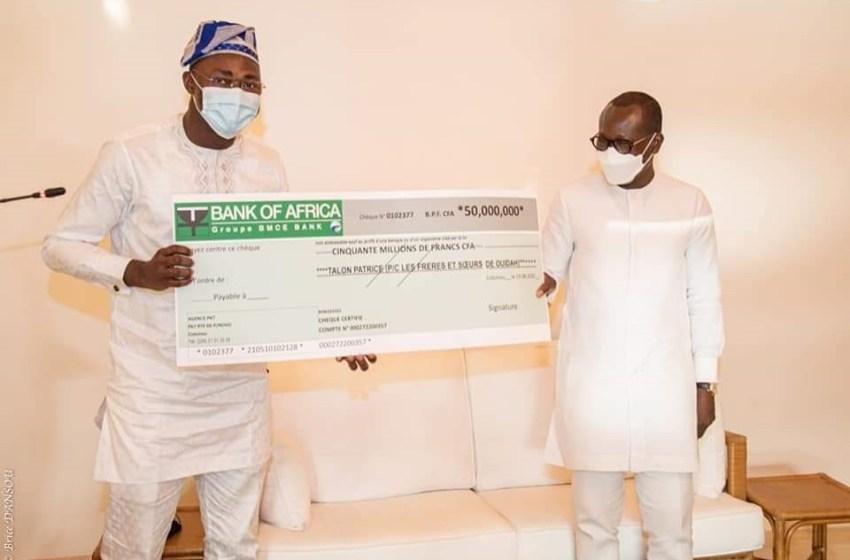 Benin-Présidentielles 2021: la ville de Ouidah paie les 50 millions de frs Cfa de caution du candidat Talon