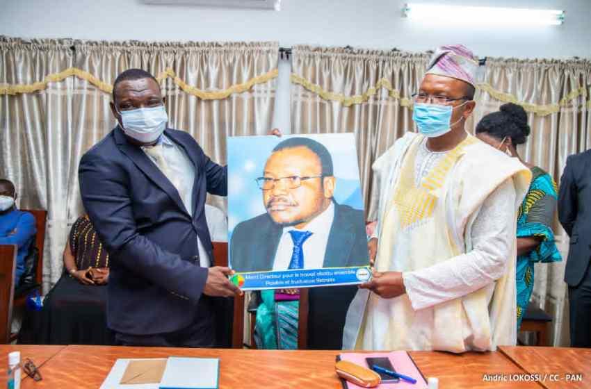 Assemblée Nationale du Bénin : Yaï Bienvenu désormais aux commandes de l'Unaceb (Plusieurs cadres promus ont aussi pris fonctions)