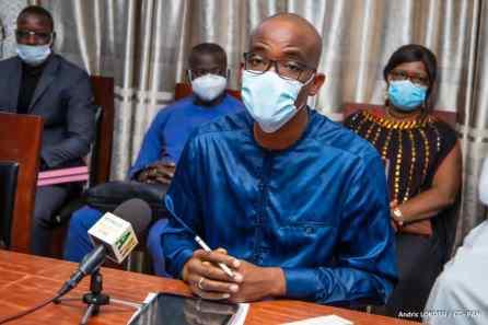Tidjani Serpos Olushègun Abdel Directeur des Services Législatifs de l'Assemblée Nationale du Bénin