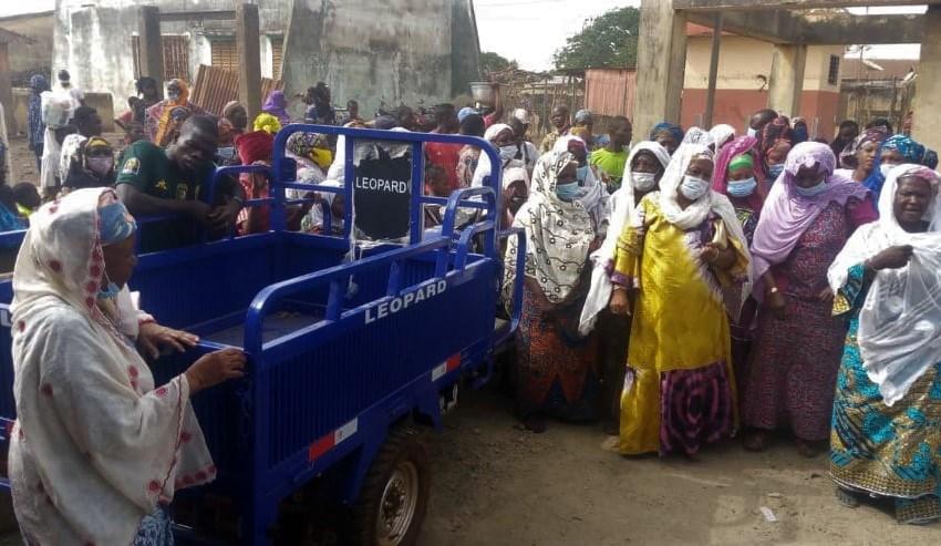 Transformation du karité au Bénin : Des femmes de l'Atacora et de la Donga reçoivent du matériel de travail