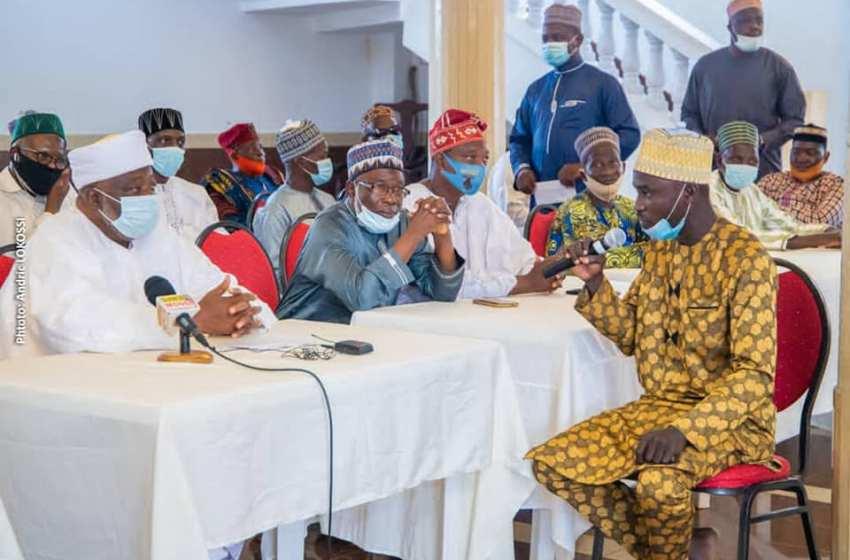 Avec le soutien de l'Union Progressiste: El-Hadj Wassi Adéossi Abodounrin organise une grande prière musulmane pour la paix au Bénin