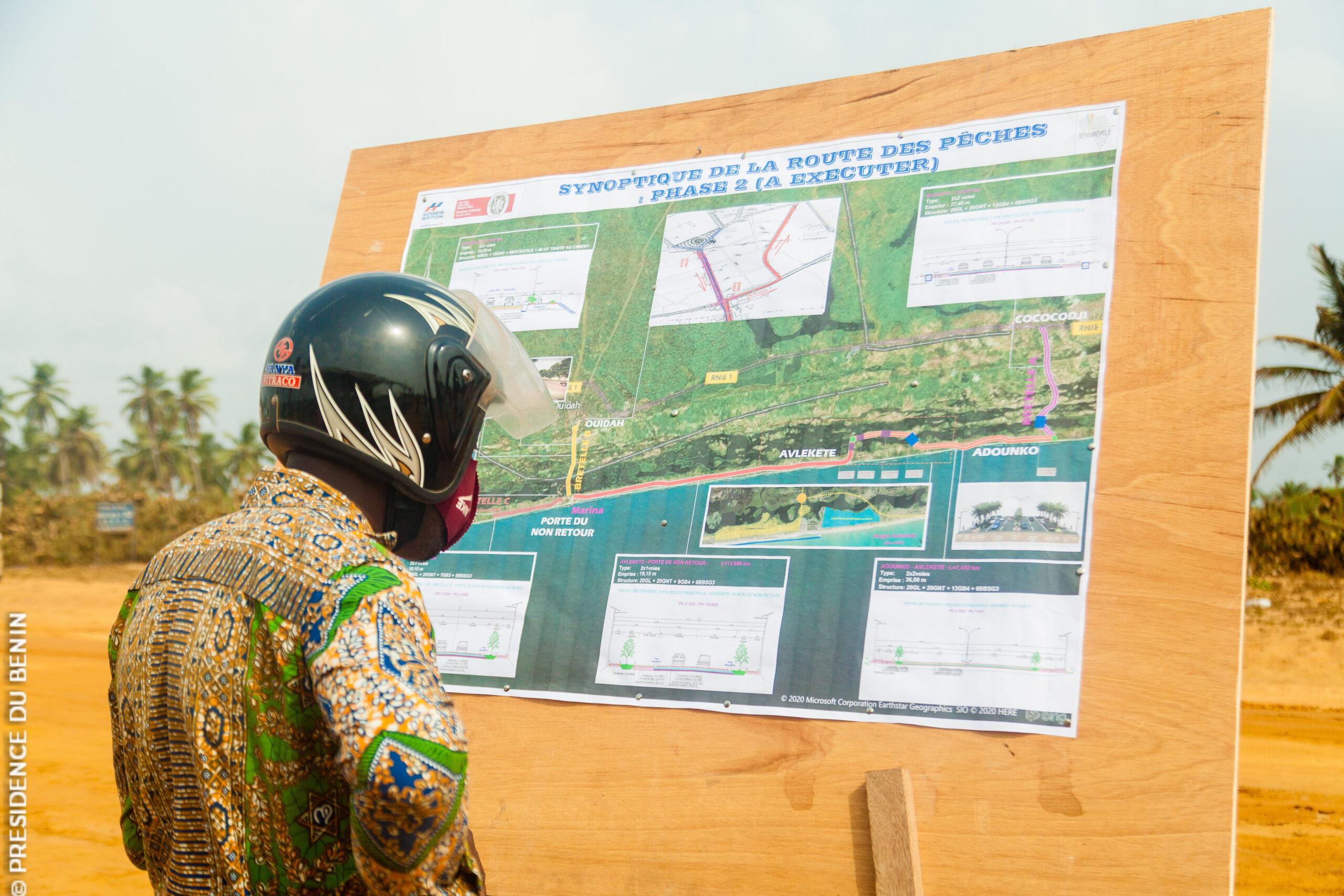 Cotonou-Ouidah: Les travaux de la phase II de la route des pêches lancés