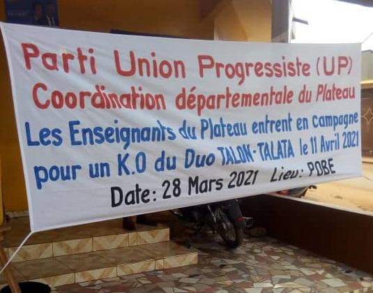 Avec le soutien du président Louis Vlavonou : Les Enseignants du Plateau se mobilisent pour un K.O pédagogique du duo Talon-Talata