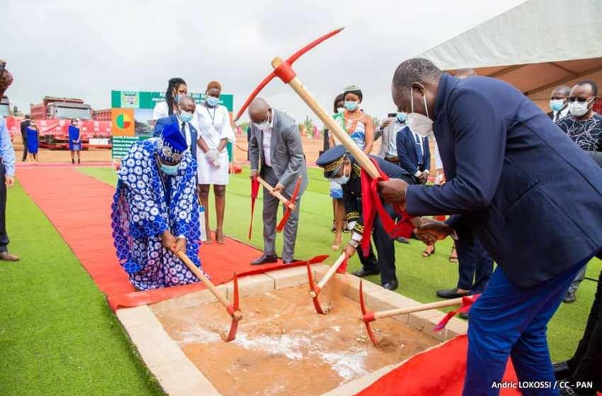 Construction du nouveau siège de l'Assemblée Nationale du Bénin: Louis Vlavonou procède à la remise de site et lance les travaux