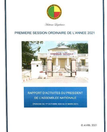 Assemblée Nationale du Bénin: Les grandes lignes du 4ème rapport d'activités Président Vlavonou adopté à l'unanimité