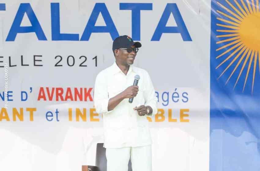 Engagement d'Avrankou pour le K.O du 11 avril prochain au profit de Talon-Talata: Mission accomplie pour le maire Ganhoutondé