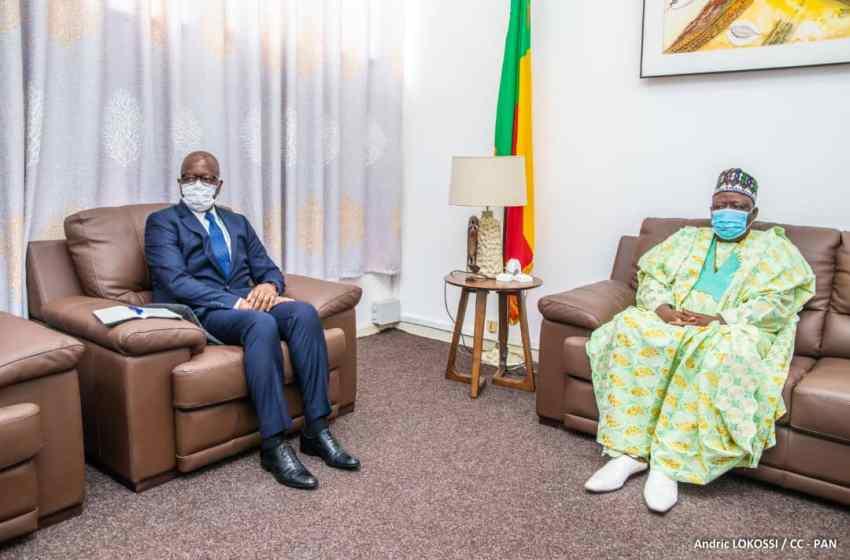 L'ambassadeur Makarimi A. ADECHOUBOU au cabinet du Président Louis G. Vlavonou : La Coopération entre les Parlements béninois et japonais passée au peigne fin
