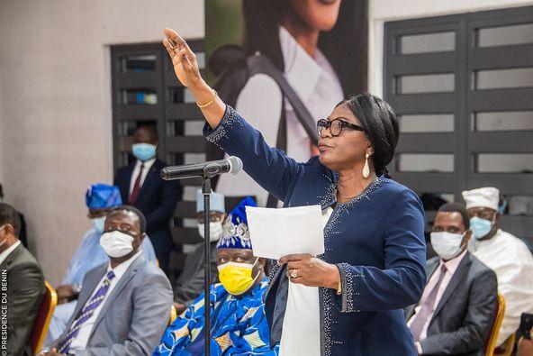 Bénin/Institution : La Présidente de la Cour des Comptes prête serment
