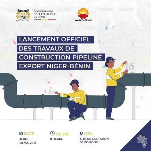 Exportation de Pétrole brut: Le Bénin lance son premier pipeline
