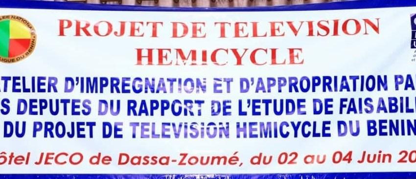 Rapport de l'étude de faisabilité du Projet de Télévision Hémicycle du Bénin: Députés et Cadres parlementaires s'y penchent