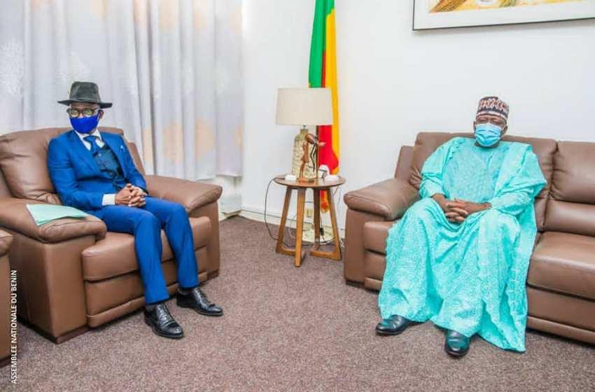 Pour la ratification de la convention de l'Union Africaine sur les données à caractère personnel: Me Aboubakar Baparapé fait un plaidoyer auprès du Président Vlavonou
