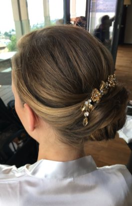 bride hair styling I