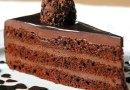 Bolo de Chocolate com Recheio de Ganache