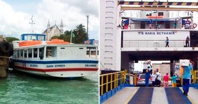 AGERBA: Novos horários de ferries e lanchas