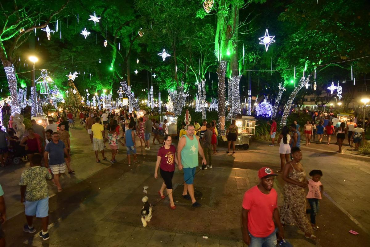 Brinquedos e iluminação no Campo Grande são opções de lazer neste final de semana