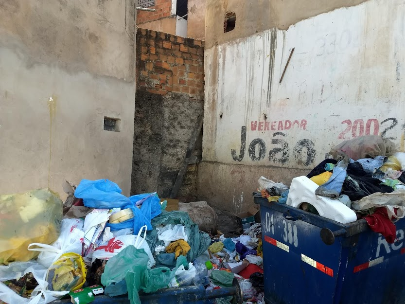 Lixo e saúde andam de mãos dadas
