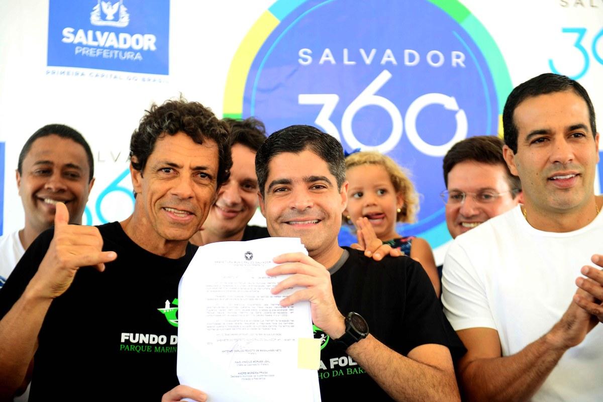 Barra ganha Parque Municipal Marinho pioneiro no país