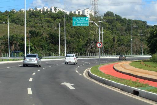 Inaugurada a Avenida 29 de Março que liga a Orla à BR-324