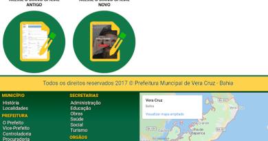 Vera Cruz: Diário Oficial, confusão na cabeça dos políticos